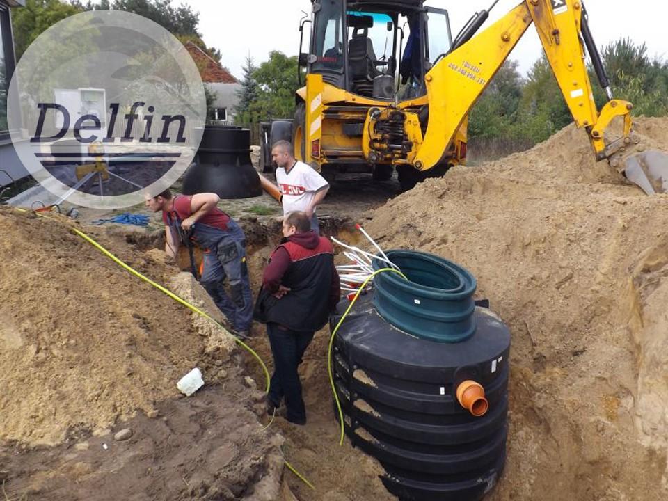 Монтаж автономной канализации и септик в Мытищи Московская область