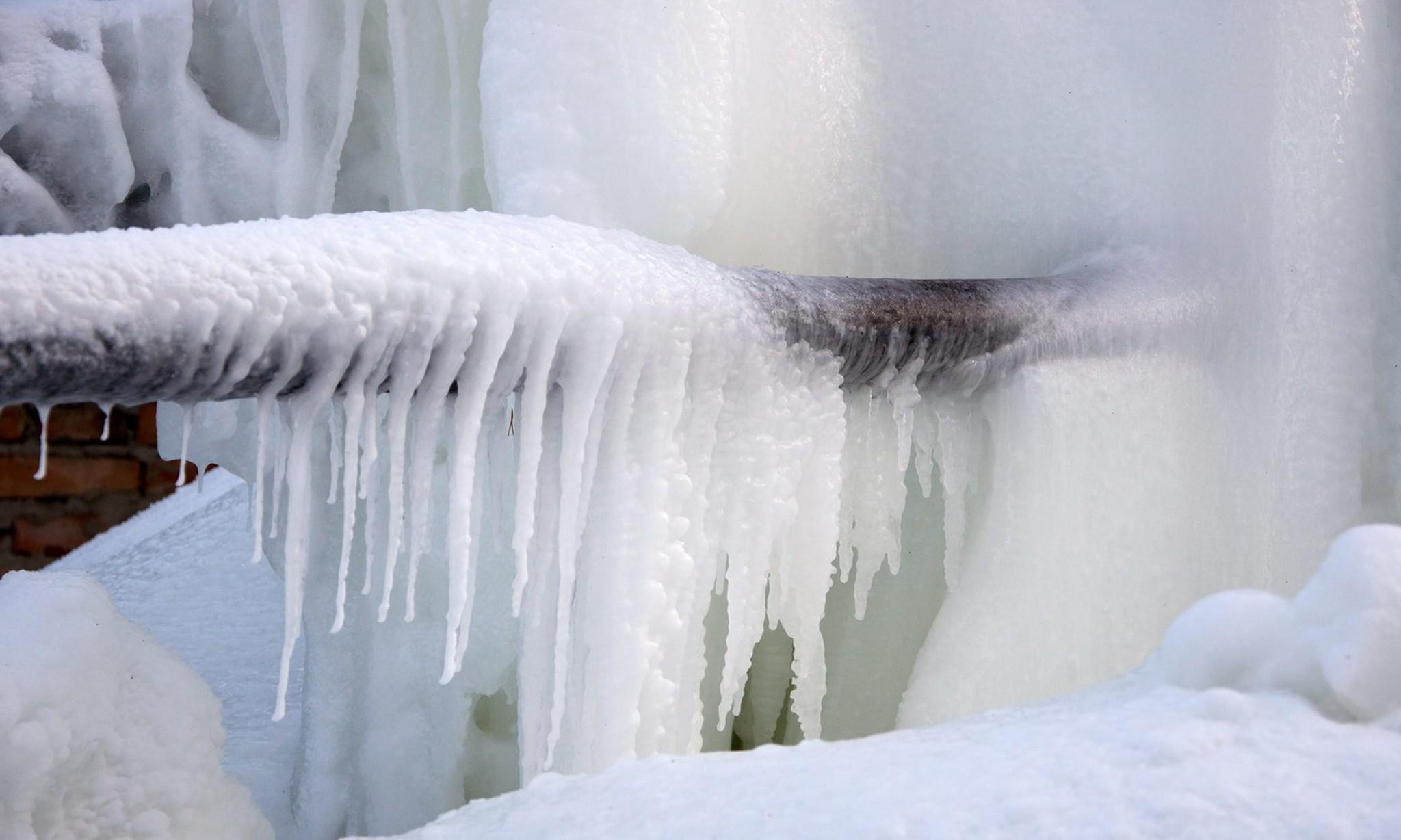 Септик зимой