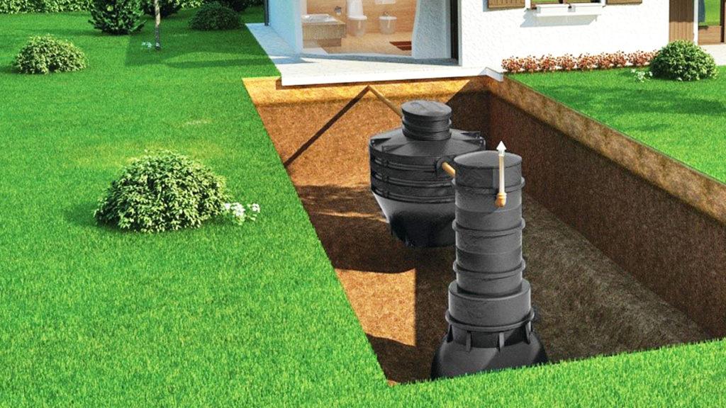 Автономная канализация, септик DELFIN