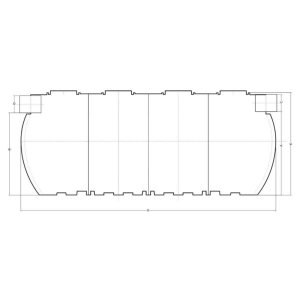 Delfin HD H-O 3 (мощность 3 л/сек) - Нефтеуловитель