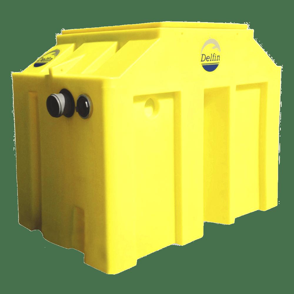 Сепаратор жиров Delfin ST-O (с камерой для сбора осадков)